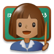 Woman Teacher: Medium Skin Tone on Samsung Experience 8.1