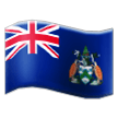 Flag: Ascension Island on Samsung Experience 8.1