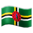 Flag: Dominica on Samsung Experience 8.1