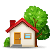 House With Garden on Samsung Experience 8.1