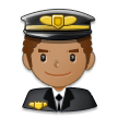 Man Pilot: Medium Skin Tone on Samsung Experience 8.1