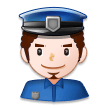 Man Police Officer on Samsung Experience 8.1