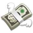 Money with Wings on Samsung Experience 8.1