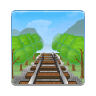 Railway Track on Samsung Experience 8.1