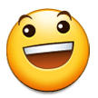 Grinning Face With Big Eyes on Samsung Experience 8.1