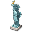 Statue of Liberty on Samsung Experience 8.1
