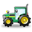 Tractor on Samsung Experience 8.1