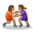Women Wrestling, Type-4 on Samsung Experience 8.1