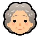Old Woman on SoftBank 2014