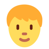 Person on Twitter Twemoji 2.3
