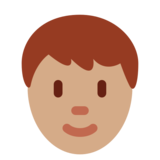 Person: Medium Skin Tone on Twitter Twemoji 2.3
