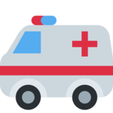 Ambulance on Twitter Twemoji 2.3