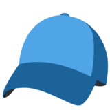 Billed Cap on Twitter Twemoji 2.3