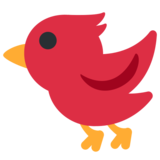 Bird on Twitter Twemoji 2.3