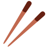 Chopsticks on Twitter Twemoji 2.3