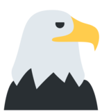 Eagle on Twitter Twemoji 2.3