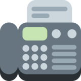 Fax Machine on Twitter Twemoji 2.3