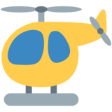 Helicopter on Twitter Twemoji 2.3