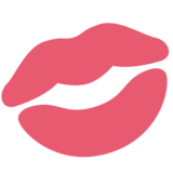 Kiss Mark on Twitter Twemoji 2.3