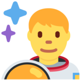 Man Astronaut on Twitter Twemoji 2.3