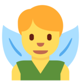 Man Fairy on Twitter Twemoji 2.3
