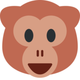 Monkey Face on Twitter Twemoji 2.3