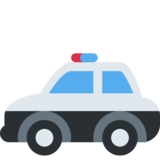 Police Car on Twitter Twemoji 2.3