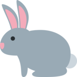 Rabbit on Twitter Twemoji 2.3