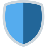 Shield on Twitter Twemoji 2.3