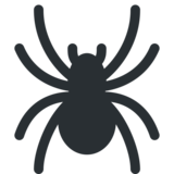 Spider on Twitter Twemoji 2.3