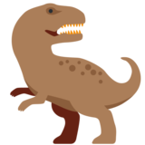 T-Rex on Twitter Twemoji 2.3