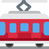 Tram Car on Twitter Twemoji 2.3