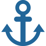 Anchor on Twitter Twemoji 2.4