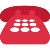 Telephone on Twitter Twemoji 2.4