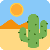 Desert on Twitter Twemoji 2.4