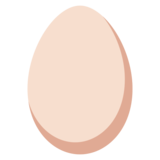Egg on Twitter Twemoji 2.4