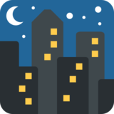 Night With Stars on Twitter Twemoji 2.4