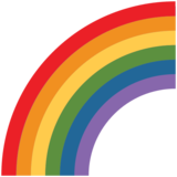 Rainbow on Twitter Twemoji 2.4