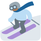 Skier, Type-5 on Twitter Twemoji 2.4