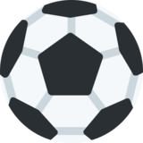 Soccer Ball on Twitter Twemoji 2.4