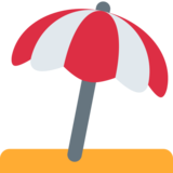 Umbrella on Ground on Twitter Twemoji 2.4