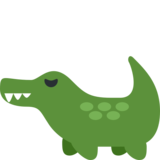 Crocodile on Twitter Twemoji 2.5