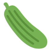Cucumber on Twitter Twemoji 2.5