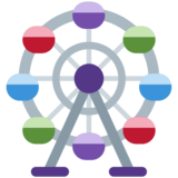 Ferris Wheel on Twitter Twemoji 2.5