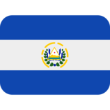 Flag: El Salvador on Twitter Twemoji 2.5