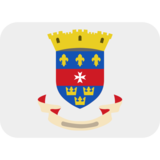 Flag: St. Barthélemy on Twitter Twemoji 2.5