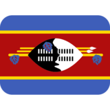 Flag: Eswatini on Twitter Twemoji 2.5