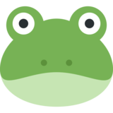 Frog Face on Twitter Twemoji 2.5