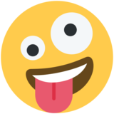Zany Face on Twitter Twemoji 2.5