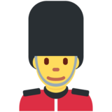 Guard on Twitter Twemoji 2.5